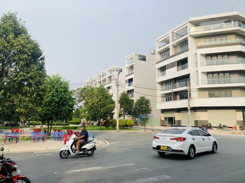 Nhà siêu phẩm khu Bình Phú – Võ Văn Kiệt, 5x17m, 6 lầu – 15 tỷ