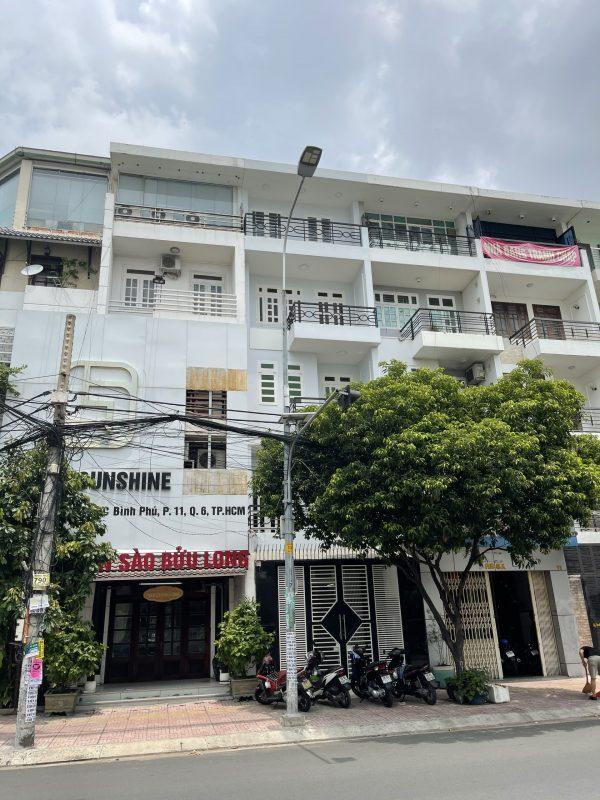 Nhà mặt tiền đường số 23 – khu Bình Phú Quận 6 – 16 tỷ